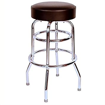 Pemberly Row 30 Swivel Bar Stool in Black