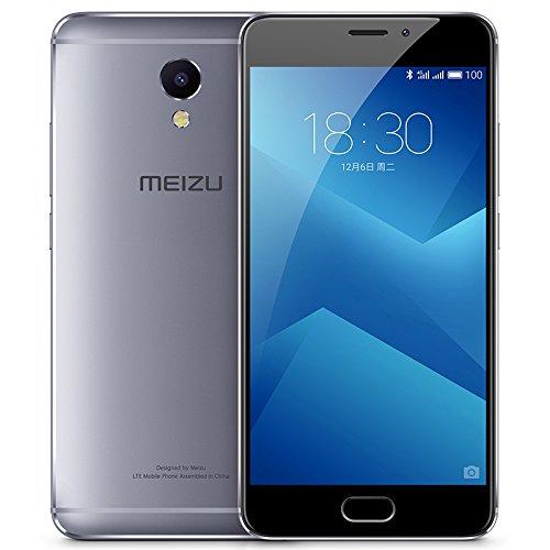 Meizu M5 Note / M621Q 3+32GB 5.5 Inch, Helio P10 Octa Core 1.8 GHz, 3GB RAM 4000mAh GSM & WCDMA & FDD-LTE (Grey) by Meizu