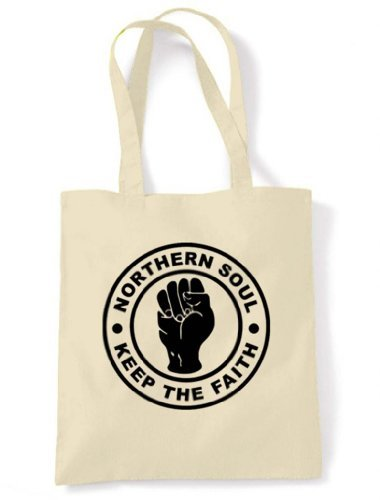 Bag Choice Colour Northern of Keep Soul Faith Cream Tote Unbleached The Cotton Shoulder 40Yqw