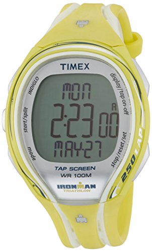 Timex Ironman Sleek 250 Lap Mid Size Running Watch - One - Yellow ()