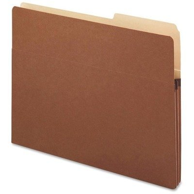 1.75 Accordion Expansion Pocket, 2/5 Tab, 25/Box by Smead