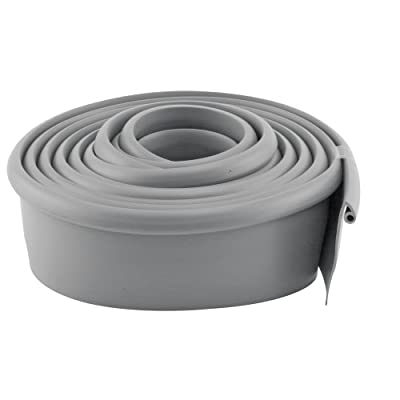 Prime-Line Products GD 12275 Garage Door Bottom Seal, Metal Door, 10-Feet Long, Gray Vinyl