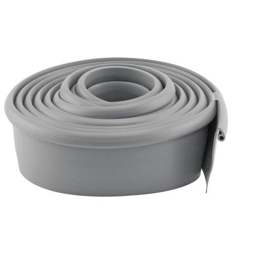 10 Piece Weatherstrip (Prime-Line Products GD 12275 Garage Door Bottom Seal, Metal Door, 10-Feet Long, Gray Vinyl)