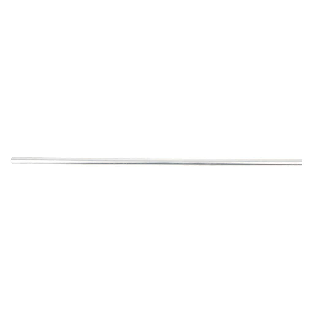 Flameer 50cm X 6063 Aluminium Alloy Round Tube Pipe Pole Hollow Shaft, heat treatable and weldable - 16mm