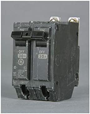GE THQB2120 Bolt-On Mount Type THQB Miniature Circuit Breaker 2-Pole 20 Amp 120 240 Volt AC, COLOR
