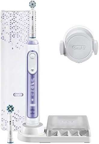 Braun Oral-B Genius 10N, Brosse À Dents Électrique, Orchidée Violette