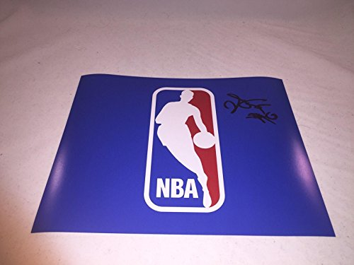 DE'AARON FOX SACRAMENTO KINGS SIGNED NBA LOGO 8x10 PHOTO KENTUCKY WILDCATS - Autographed NBA Photos -