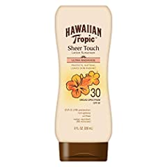 For rejuvenating days spent basking in the sun, Hawaiian Tropic Sheer Touch Ultra Radiance sunscreen leaves your skin positively radiant. This luxurious formula leaves skin radiant while providing effective sun protection.