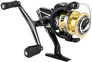 Spinning Fishing Reel 7.1:1 7.1:1 Hi-Speed Fishing Reel Wire Spool Dual Rocker Lure Spinning Fish Wheel for Sh