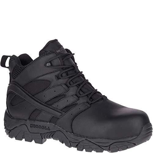 Merrell Moab 2 Mid Tactical Response Waterproof Comp Toe Work Boot Men 8 Black