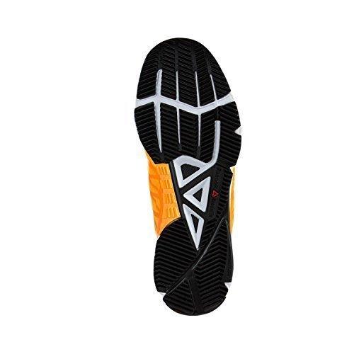 Reebok Womens Crossfit Speed Cross-Trainer Shoe Fire Spark/White/Black/Silver 8/US