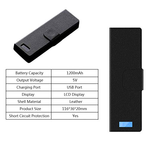 Yiran Portable Charger Charging Case Pods Holder with LCD