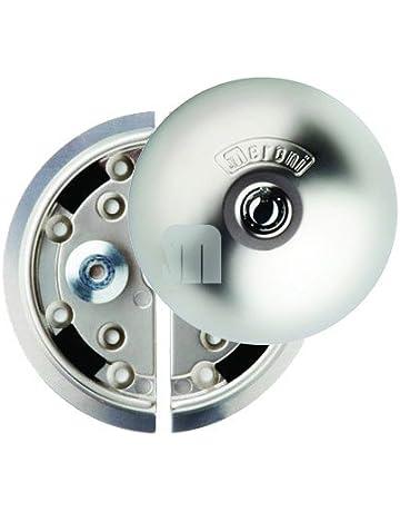 UFO-398 8080331215D Cerradura de Seguridad 0 V, Nickel Opaco
