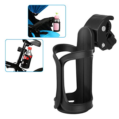 EEEKit Bike Water Bottle Holder, No Lost Bottles, Lightweight and Strong Bicycle Bottle Cage, Quick and Easy to Mount, Great for Road and Mountain Bikes