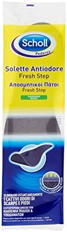 Scholl Odour Control Einlegesohlen, Füße und entfernt unangenehme Gerüche für Schuhe – 1 Paar