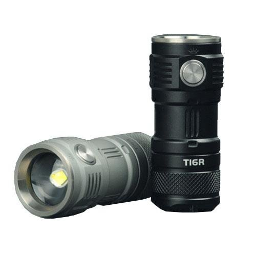 Sunwayman T16R CREE XM-L2 U3 LED -380 Lumens (Available in Black and Grey) by Sunwayman
