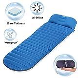 Sleeping Pad, Doact Ultralight Inflatable Camping Sleeping Mat Pillow Backpacking Hiking Traveling No