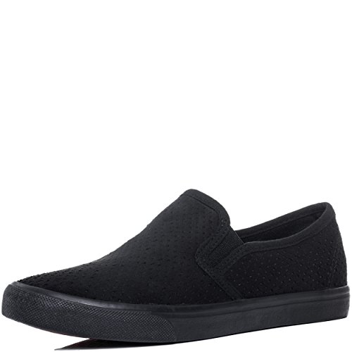 Spylovebuy Planos Negro Be Gamuza Zapatos Mujer Sintética Awesome De Salón BrwBnxqgt6