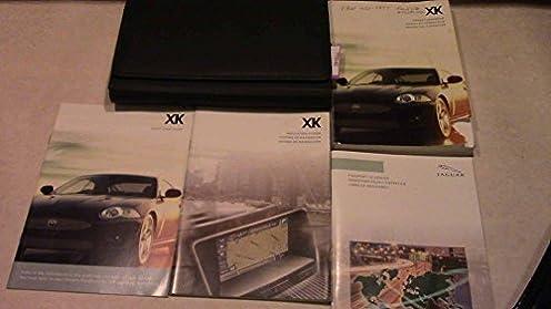 2007 jaguar xk owners manual jaguar amazon com books rh amazon com 2007 Jaguar XKR Supercharged 2007 jaguar xk repair manual