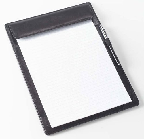 (Clava Tuscan Leather Full Size Tablet Holder (Tuscan Black))