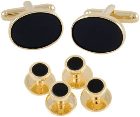 Luxury Cufflinks and Stud Set
