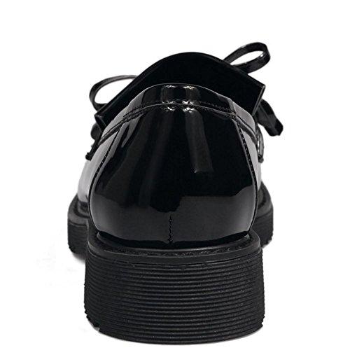 Scarpe Black Donna COOLCEPT Basso 27 Moda Tacco Pompe SFIwwP01q