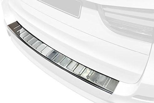 Avisa Edelstahl Hecksto/ßstangenschutz kompatibel mit BMW X5 F15 mit M-Paket 2013-2018 Ribs