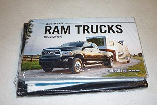 2018 DODGE RAM OWNERS MANUAL 1500 2500 3500 LARAMIE LIMITED SPORT V8 V6 18
