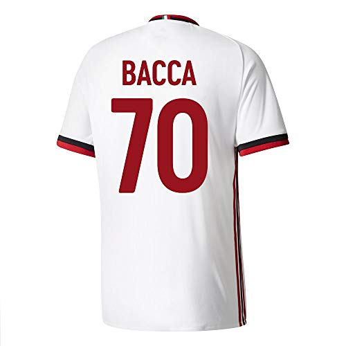 adidas AC Milan Away Bacca Jersey 2017/2018 (Fan Style Printing) - L