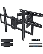 """Mounting Dream TV Wall Mount Swivel and Tilt for 42-75 Inch TVs, Full Motion TV Mount TV Bracket with Articulating Arms, Max VESA 600x400mm and 100 LBS Loading, Fits 16"""" Woods Studs, MD2658"""