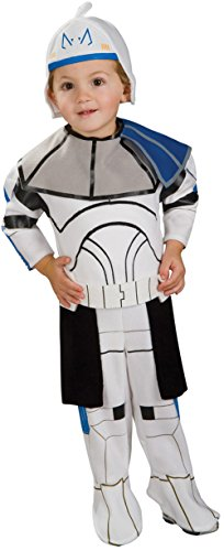 Star Wars Clone Wars Romper And Headpiece Clone Trooper Captain Rex, Rex Print, 6-12 Months ()