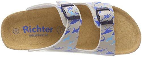 Richter Kinderschuhe - Zapatos de cuero nobuck para niño Grau (Flint)
