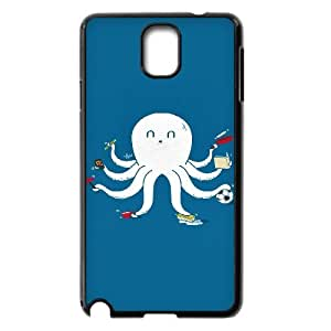 Funny Octopus Case For Samsung Galaxy Note 3 Black