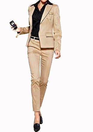 begehrte Auswahl an 100% Qualität schön und charmant APART Hosenanzug Beige Größe 34: Amazon.de: Bekleidung