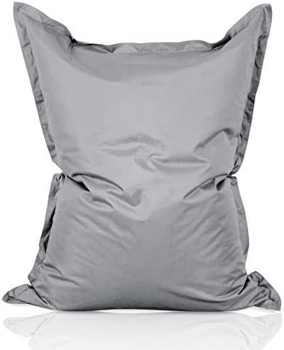 Lumaland Coussin Oreiller matelass/é Housse en Coton Fermeture /à glissi/ère Remplissage en Sarrasin Blanc 40 x 40 cm