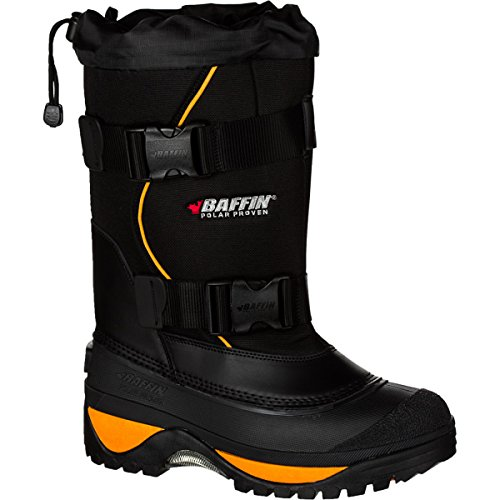 Baffin Men's Wolf Snow Boot,Black/Expedition Gold,14 M US