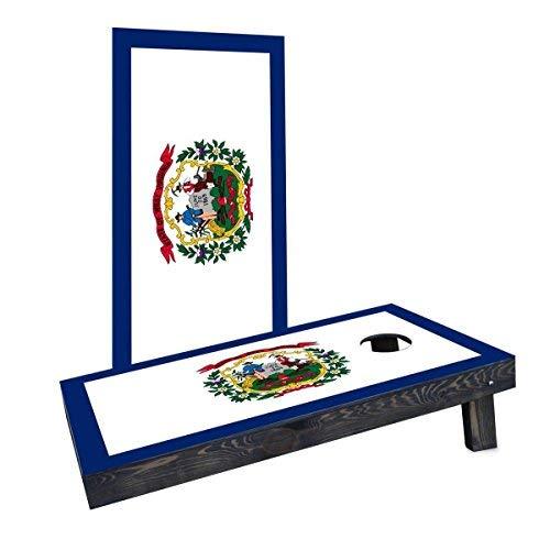 人気の Custom Cornhole Boards Incorporated CCB247-AW West West Boards Virginia CCB247-AW State Flag Cornhole Boards [並行輸入品] B07HLHPDM4, 樽酒屋 樽酒飾樽祝酒の専門店:f0343507 --- arianechie.dominiotemporario.com