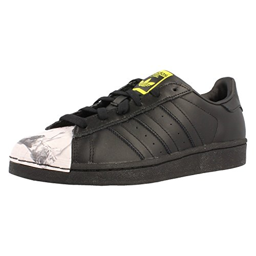S83360 Superstar Hombre CBLACK YELLOW CBLACK para Supershell Zapatillas Pharrell adidas qwPRTZT