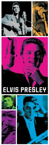 - Aquarius Elvis Presley Colors 1000-Piece Slim Jigsaw Puzzle