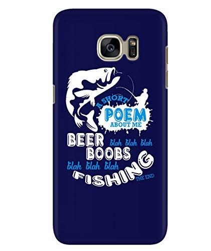 Design for Samsung Galaxy S7 Case, A Short Poem Samsung Case, Beer Blah Blah Blah Galaxy S7 Case (Samsung Galaxy S7 Case - -