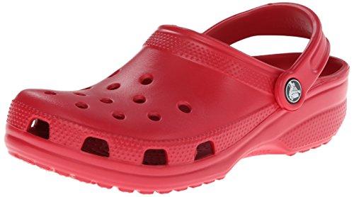 Crocs Unisex-Erwachsene Classic Clogs, Rot (Pepper 6EN), 43-44 EU (10M)