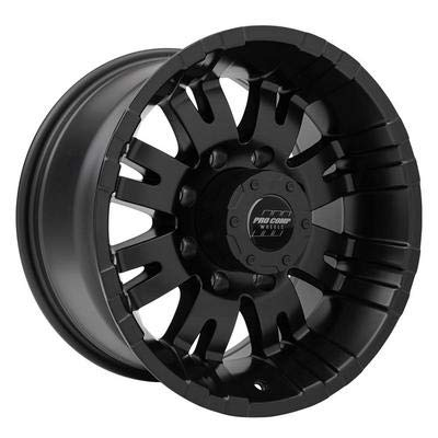 Pro Comp Alloys Series 01 Wheel with Satin Black Finish (18 x 9.5 inches /8 x 165 mm, -6 mm Offset ()