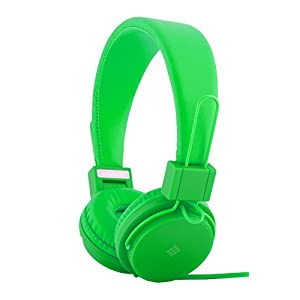 Polaroid Foldable Headphones with In-Line Mic PHP8500-GR (Green)