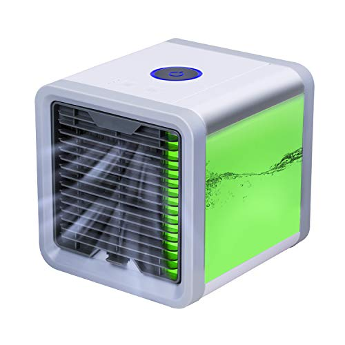 YACHANCE Personal Space air Cooler Portable air Conditioner Fan evaporative Cooler Desk Fan Mini Small ac Unit Cooling Fan Swamp USB Desktop Cooling Fan (White) (White) (Grey) by YACHANCE