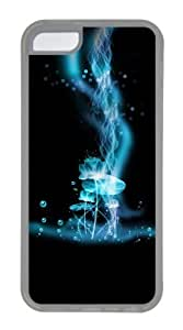 Customized Case Super dreamy light TPU Transparent for Apple iPhone 5C by mcsharks