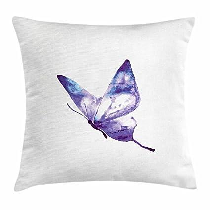 Fabulous Amazon Com Huaxuagr Purple Throw Pillow Cushion Cover Download Free Architecture Designs Saprecsunscenecom