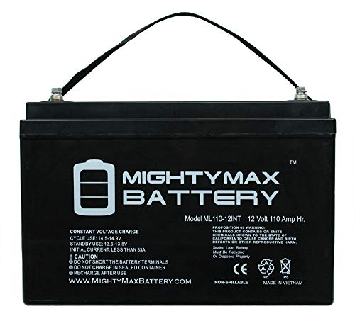 Mighty Max Battery 12V 110AH SLA Replaces Universal Power Group 45981 Sealed Lead Acid brand product