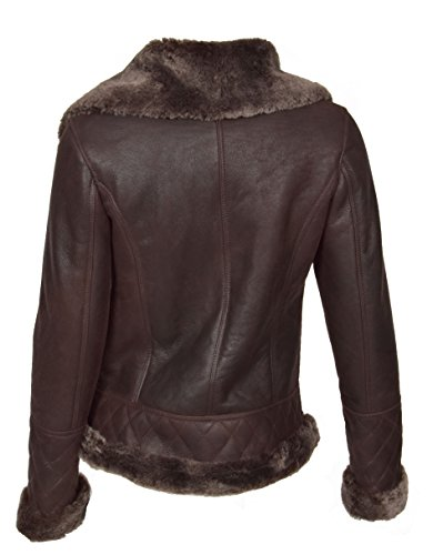 Blouson A1 Veste Goods Fashion Femme Damassée Marron qaaCETrxw