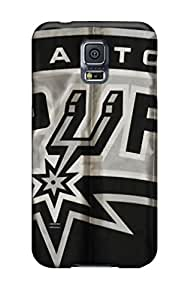 High Quality AiZjx16375PzqHf San Antonio Spurs Logo Tpu Case For Galaxy S5