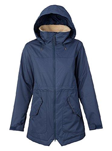 Burton Women's Prowess Jacket, Mood Indigo, (Burton Womens Snowboard Jackets)